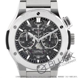 ウブロ クラシック フュージョン アエロ フュージョン チタニウム クロノグラフ 腕時計 メンズ HUBLOT 528.NX.0170.NX