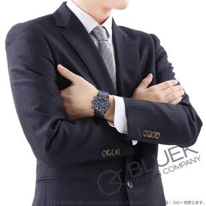 ウブロ クラシック フュージョン セラミック ブルー クロノグラフ アリゲーターレザー 腕時計 メンズ HUBLOT 541.CM.7170.LR