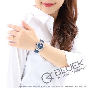 ウブロ クラシック フュージョン チタニウム アリゲーターレザー 腕時計 レディース HUBLOT 581.NX.7170.LR