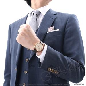 ジャガールクルト マスター ウルトラスリム PG金無垢 アリゲーターレザー 腕時計 メンズ Jaeger-LeCoultre Q1272510