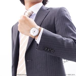 ユンハンス マックスビル クロノスコープ クロノグラフ 腕時計 メンズ JUNGHANS 027/4502.00