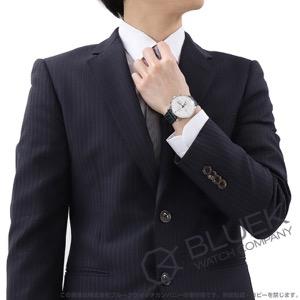 ユンハンス マイスター クロノスコープ テラスビルディング 世界限定1000本 クロノグラフ アリゲーターレザー 腕時計 メンズ JUNGHANS 027/4729.01
