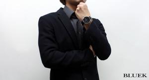 ユンハンス マイスター アタッシェ パワーリザーブ クロコレザー 腕時計 メンズ JUNGHANS 027/4762.00
