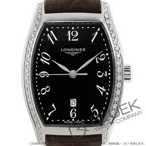 ロンジン エヴィデンツァ ダイヤ アリゲーターレザー 腕時計 レディース LONGINES L2.155.0.53.5