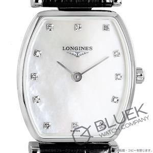 ロンジン グランドクラシック トノー ダイヤ アリゲーターレザー 腕時計 レディース LONGINES L4.205.4.87.2
