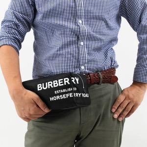 バーバリー ウォッシュバッグ バッグ メンズ ブラック&ホワイト 8014759 110985 A1189 BURBERRY