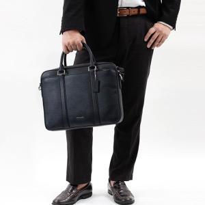 コーチ ビジネスバッグ/ショルダーバッグ バッグ メンズ コンパクト ブリーフケース ミッドナイトネイビー F59056 MID COACH