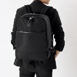 ダンヒル リュックサック/バックパック バッグ メンズ ガーズマン ブラック DUL3WG70 A DUNHILL