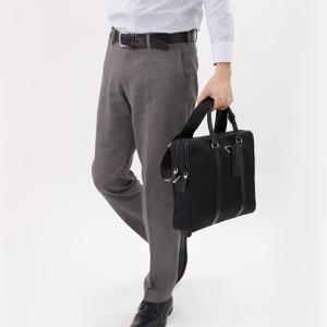 プラダ ビジネスバッグ/ショルダーバッグ バッグ メンズ TESSUTO SAFFIANO 三角ロゴプレート ブラック 2VE002 064 F0002 PRADA