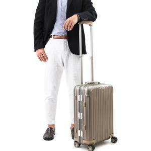 リモワ スーツケース/旅行用バッグ バッグ メンズ レディース トパーズ チタニウム キャビン 32L 1〜2泊 シャンパンゴールド 923.52.03.4 RIMOWA