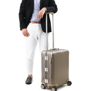 リモワ スーツケース/旅行用バッグ バッグ メンズ レディース トパーズ チタニウム 45L 2〜3泊 シャンパンゴールド 923.56.03.4 RIMOWA
