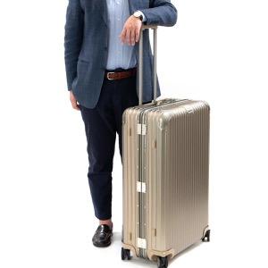 リモワ スーツケース/旅行用バッグ バッグ メンズ レディース トパーズ チタニウム ELECTRONIC TAG 98L 7泊〜 シャンパンゴールド 92477035 RIMOWA