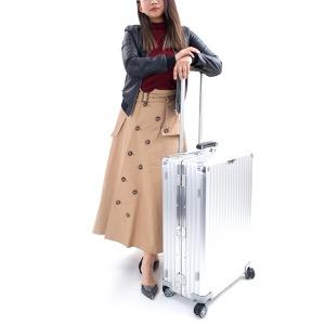 リモワ スーツケース/旅行用バッグ バッグ メンズ レディース クラシック フライト 60L 3〜5泊 シルバー 971.63.00.4 RIMOWA