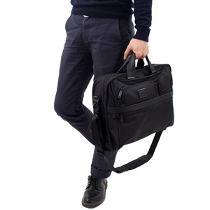 トゥミ ビジネスバッグ/ショルダーバッグ/ブリーフケース バッグ メンズ アルファ 2 コンパクト・ラージ スクリーン コンピューター ブラック 26114 D2 TUMI