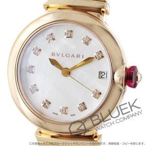 ブルガリ ルチェア ダイヤ PG金無垢 腕時計 レディース BVLGARI LUP33WGGD/11