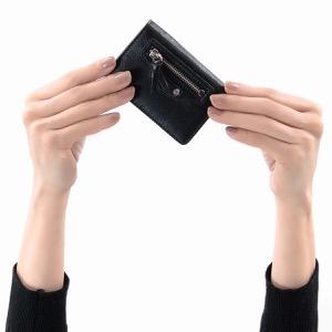 バレンシアガ 三つ折り財布/ミニ財布 財布 レディース クラシック ミニ ブラック 477455 D940N 1000 2019年春夏新作 BALENCIAGA