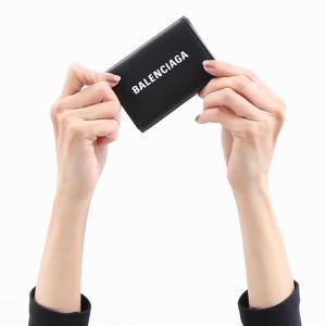 バレンシアガ 三つ折り財布/ミニ財布 財布 レディース エブリディ ブラック 505055 DLQHN 1060 BALENCIAGA