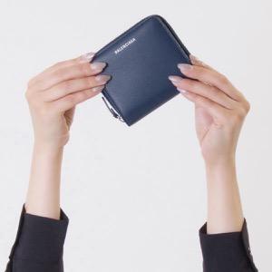 de7ff2a57682 バレンシアガ 二つ折り財布/ミニ財布 財布 レディース エブリディ スクエア ブルータンザナイト 516366 DLQ0N 4205  BALENCIAGA