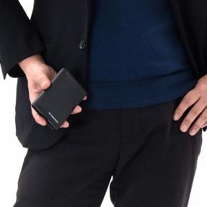 バーバリー カードケース/名刺入れ メンズ レディース フリント ブラック 4074578 00100 BURBERRY