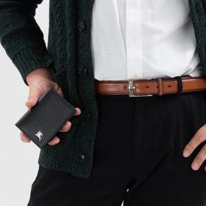 バーバリー カードケース/名刺入れ メンズ フリント ロンドン ブラック 8005998 A1189 2019年春夏新作 BURBERRY