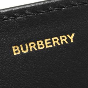 バーバリー 長財布 財布 メンズ レディース ヘロン モノグラム ブラック 8011605 113873 A1189 2020年春夏新作 BURBERRY