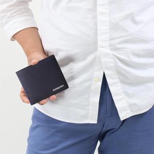 バーバリー 二つ折り財布【札入れ】 財布 メンズ シーシービル インターナショナル リージェンシーブルー 8014655 A1250 2019年春夏新作 BURBERRY