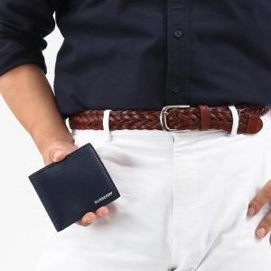 バーバリー 二つ折り財布 財布 メンズ シーシービル インターナショナル リージェンシーブルー 8014658 114498 A1250 2019年秋冬新作 BURBERRY