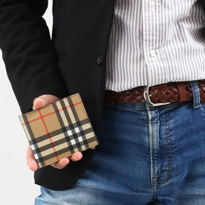 バーバリー 二つ折り財布 財布 メンズ レディース シーシービル インターナショナル ヴィンテージチェック アーカイブベージュ 8016618 115169 A7026 2019年秋冬新作 BURBERRY