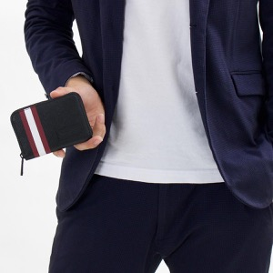 バリー コインケース【小銭入れ】 財布 メンズ ビビィ ブラック BIVYOF 36 6224343 2018年秋冬新作 BALLY