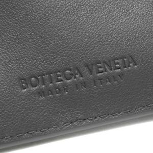 ボッテガヴェネタ (ボッテガ・ヴェネタ) 二つ折り財布 財布 メンズ イントレチャート ライトグラファイトグレー 605722 VCPQ4 1445 BOTTEGA VENETA