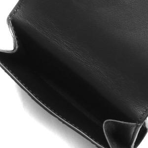 ボッテガヴェネタ (ボッテガ・ヴェネタ) カードケース/コインケース メンズ イントレチャート ブラック 667033 VCPQ4 8803 2021年秋冬新作 BOTTEGA VENETA