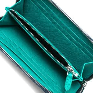 ブルガリ 長財布 財布 メンズ ブルガリブルガリ マン デニムサファイアブルー&トロピカルターコイズブルー 288254 BVLGARI