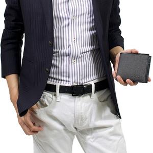 ブルガリ 二つ折り財布 財布 メンズ ウィークエンド WEEKEND グレー&ブラック 32581 BVLGARI