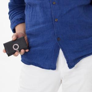 ブルガリ コインケース【小銭入れ】 財布 メンズ ブルガリブルガリ ブラック 33749 BVLGARI