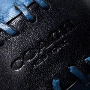 コーチ ソフトボール/インテリア小物 メンズ ベースボール ステッチ ミッドナイトブルー&デニムブルー F65249 DWF COACH