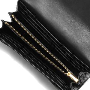 セリーヌ 長財布 財布 メンズ レディース ラージ クロコ型押し ブラック 10B56 3BFY 38NO CELINE