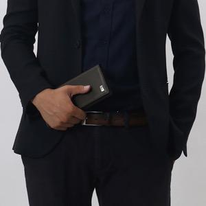 ダンヒル 長財布 財布 メンズ サイドカー 【SIDECAR】 ダークブラウン FP1010E DUNHILL