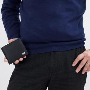 ダンヒル 二つ折り財布 財布 メンズ アボリティーズ AVORITIES ブラック L2R932 A DUNHILL