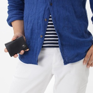 ダンヒル コインケース【小銭入れ】 財布 メンズ マイクロ ディーエイト D-EIGHT ブラック L2V380 A DUNHILL
