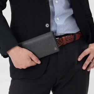ダンヒル 長財布 財布 メンズ ウィンザー アッシュグレー L2W710 Z DUNHILL