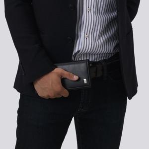 ダンヒル 長財布 財布 メンズ サイドカー 【SIDECAR】 ブラック QD1010 DUNHILL