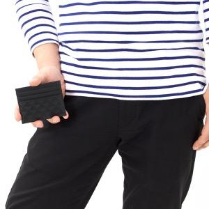エンポリオアルマーニ カードケース メンズ P.CARTE ブラック YEM320 YC043 80001 EMPORIO ARMANI