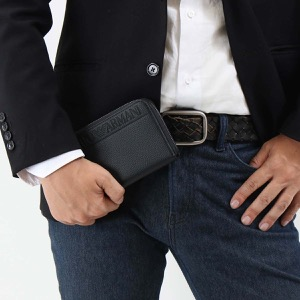 エンポリオアルマーニ 長財布 財布 メンズ イーグルマーク ブラック YEME49 YG89J 81072 EMPORIO ARMANI
