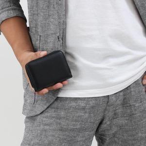 エッティンガー コインケース【小銭入れ】 財布 メンズ スターリング ブラック&パープル 2050JR ST PURPLE ETTINGER