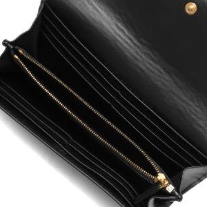 フェンディ 長財布 財布 メンズ レディース ブラック&オーロソフト 8M0251 AAYZ F0KUR FENDI