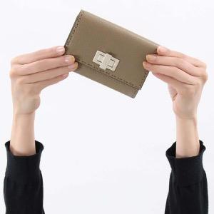 フェンディ 二つ折り財布/ミニ財布 財布 レディース セレリア ピーカブー コルダグレージュ&パラディオ 8M0359 SFR F04Y9 FENDI