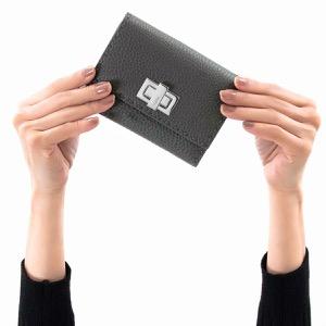 フェンディ 二つ折り財布 財布 レディース セレリア アスファルトグレー&パラディオ 8M0359 SFR F0JGZ 2019年春夏新作 FENDI