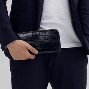 フェリージ 長財布 財布 メンズ レディース ネイビーブルー 125 SA 0005 FELISI