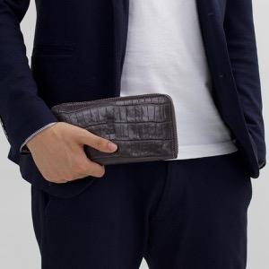 フェリージ 長財布 財布 メンズ レディース グリージョスクーログレー 125 SA 0028 FELISI