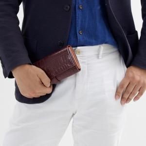 フェリージ 長財布 財布 メンズ レディース クロコ型押し ボルドー 3005 SA 0026 FELISI